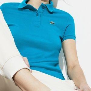 Lacoste Polo Short Sleeve Shirt Sky Blue